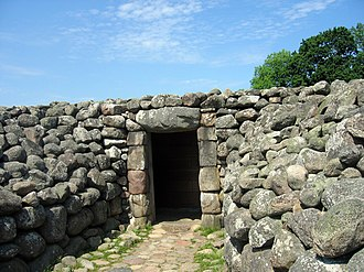 The King's Grave - The entrance to the tomb