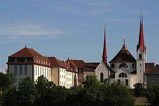 Muri Abbey Benedictine monastery in Muri, Switzerland