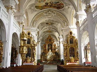 Disentis - Church of the monastery