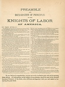 critical review knights of labour The greatest passing labour wave that ever struck canada was the knight of labour movement in the early eighties this institution was founded on the secret society principle, with signs and passwords, a working formula to open and close the assemblies, as the local bodies were called, and signs of recognition, by which brother knights who were.