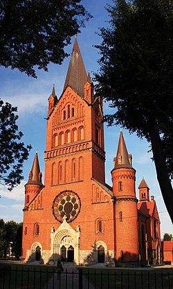 Kościół par. p.w. Zwiastowania NMP Inowrocław AW