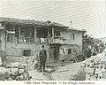 Kocho Lyutov infront of hist house in Levunovo in 1913 by Miletich.jpg
