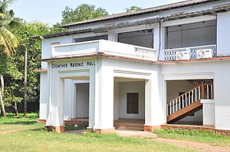 Grand Lodge of India - The Freemasons' Crowther Masonic Hall in Quilon city