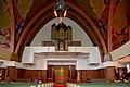 Kollum, griff. tsjerke (Oosterkerk), preekstoel en oargel.jpg