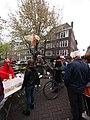 Koningsdag in Amsterdam, Lauriergracht foto 1.JPG