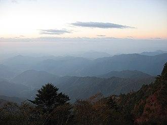 Jirisan - Image: Korea Mountain Jirisan 01