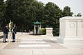 Korean Veterans Association Chairman lays a wreath at the Tomb of the Unknown Soldier at Arlington National Cemetery (20466397504).jpg