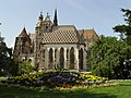 Kosice (Slovakia) - St. Michal's Chapel and St. Elisabeth Catedral - south view.jpg