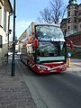 Krakov, Stare Miasto, turistický autobus.JPG