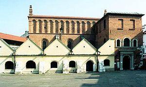Fortress synagogue - Old Synagogue, Kraków