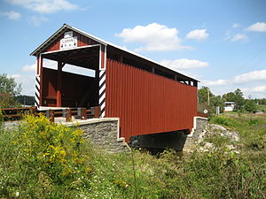 Kramer Covered Bridge No. 113 - The bridge in September 2012
