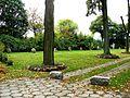 Kruszyn, kościół ewangelicki, ob. rzym.-kat. fil. p.w. św. Kazimierza, - droga krzyżowa przy kościele.JPG