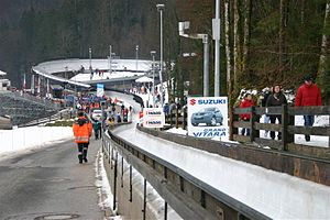 Königssee bobsleigh, luge, and skeleton track - Ice rink at Königssee