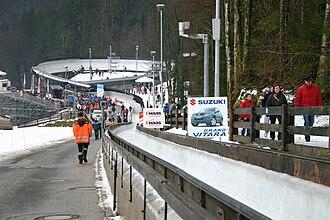 Königssee bobsleigh, luge, and skeleton track - Ice rink at Königssee