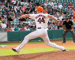 Kyle Farnsworth - Image: Kyle Farnsworth Astros May 2014