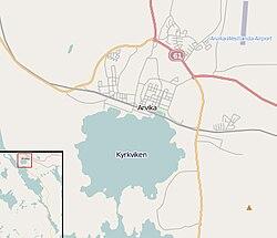 Karta Arvika Kommun.Kyrkviken Arvika Wikipedia
