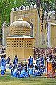 L'entrée du palais d'été de Tipu Sultan (Srirangapatnam, Inde) (14326114059).jpg