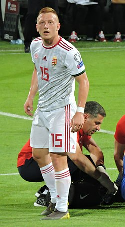 László Kleinheisler in Euro 2020 qualification.jpg