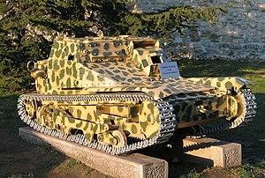 Italian tankette L3/35, Belgrade Military Muse...