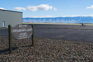 La Grande/Union County Airport - Image: La Grande Union County Airport