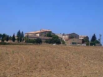 Sant Pere Sallavinera - La Llavinera village