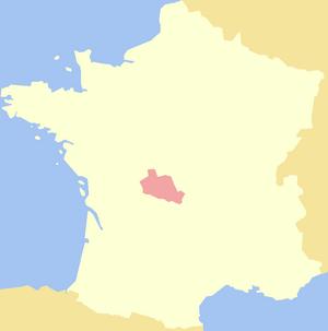 County of La Marche - Image: La Marche