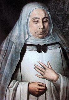 Mary of Jesus de León y Delgado Spanish Dominican lay sister and mystic