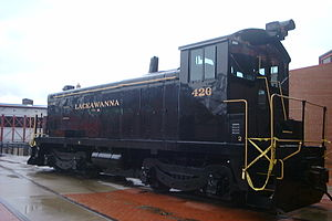 EMC Winton-engined switchers - Lackawanna 426, a preSC