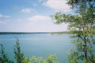 Lake Georgetown - Image: Lake georgetown texas 0001