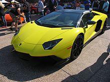 Lamborghini Aventador LP 720 4 50° Anniversario Roadster