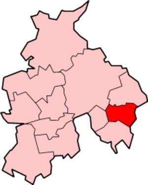 Gawthorpe (ward) - Image: Lancashire Burnley