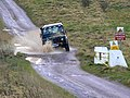Landrover on the byway near Chirton Down - geograph.org.uk - 656588.jpg