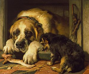 Doubtful Crumbs (Edwin Landseer)