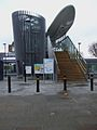 Langdon Park DLR stn west entrance.JPG