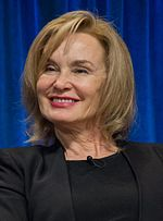 Photo of Jessica Lange at PaleyFest 2013.
