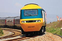 Langstone - GWR 43002 down Royal Duchy.JPG