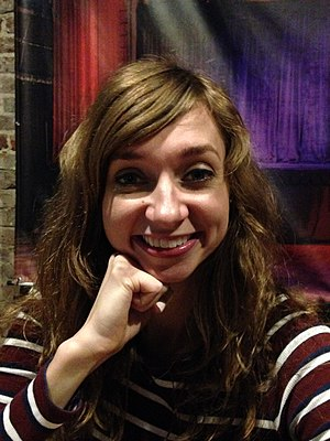 Lauren Lapkus - Lapkus after a Comedy Bang! Bang! podcast in May 2016
