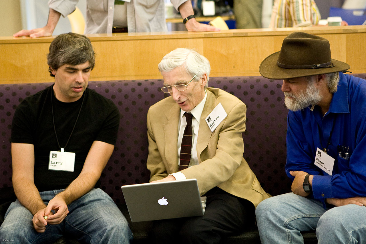 filelarry page martin rees and simon quellen field