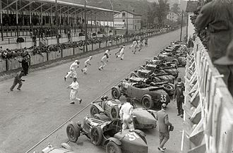 Circuito Lasarte - Start of Spanish Grand Prix 1929