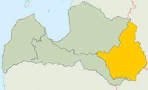 Latgale - Image: Latgale Loc Map