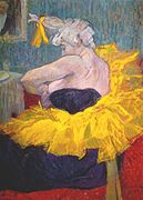Lautrec the clownesse cha-u-kao at the moulin rouge ii 1895.jpg