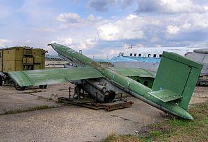 Lavochkin La-17 - Lavochkin La-17R UAV at Khodynka Field, Moscow