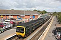 Lawrence Hill - GWR 166204 Avonmouth service.JPG