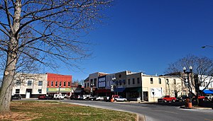 National Register of Historic Places listings in Lawrence County, Tennessee - Image: Lawrenceburg Commercial Historic District