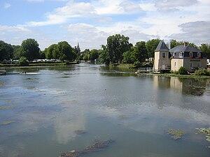 La Flèche - Le Loir à La Flèche
