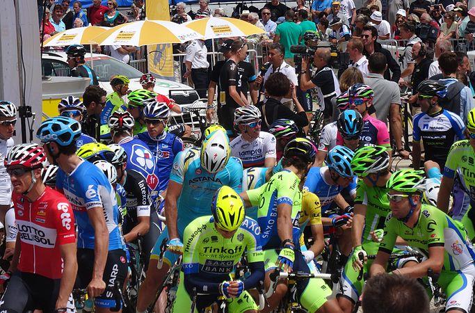 Le Touquet-Paris-Plage - Tour de France, étape 4, 8 juillet 2014, départ (C18).JPG