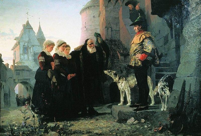 File:Le droit du Seigneur by Vasiliy Polenov.jpg