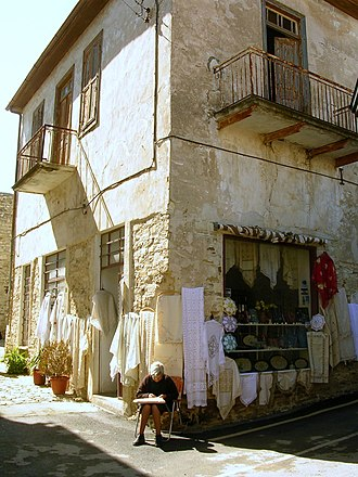 Pano Lefkara - Shop of traditional embroidery in Lefkara
