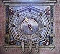 Left transept of Santi Giovanni e Paolo (Venice) - Monumental clock.jpg