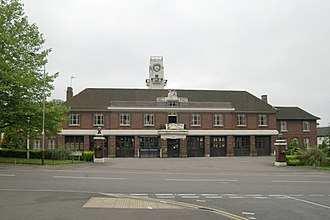 Leicestershire Fire and Rescue Service - The Grade-II listed Leicester Central Fire Station (1925-27)